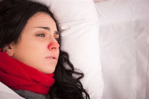 cold nose more sleep could halve your chances of catching a cold
