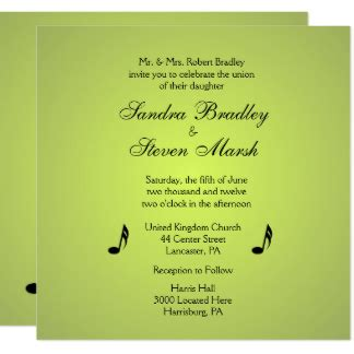 Green Theme Wedding Invitations by Theme Invitations Announcements Zazzle Co Uk