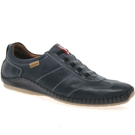 pikolinos freeway mens casual leather shoes charles clinkard