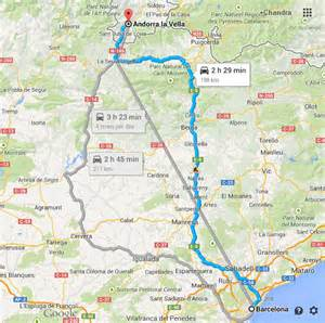 Car Rental Barcelona To Andorra Barcelona To Andorra Luz Sauveur The Restless Road