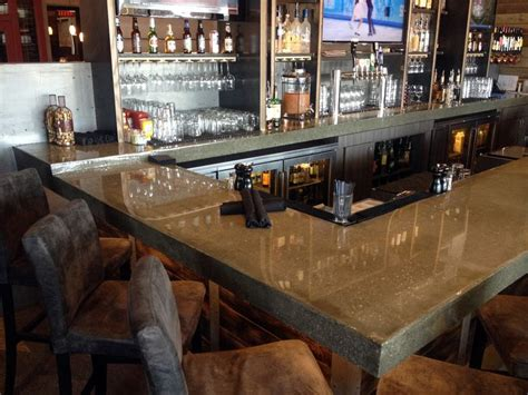 polished concrete bar top polished concrete commercial countertop google search tapas bar pinterest door