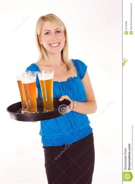 Cocktail Waitress Royalty Free Stock Image Image 10143086