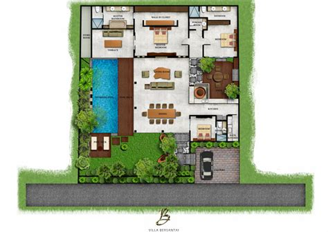 Ultra Modern Home Plans villa bersantai private holiday villas in seminyak bali