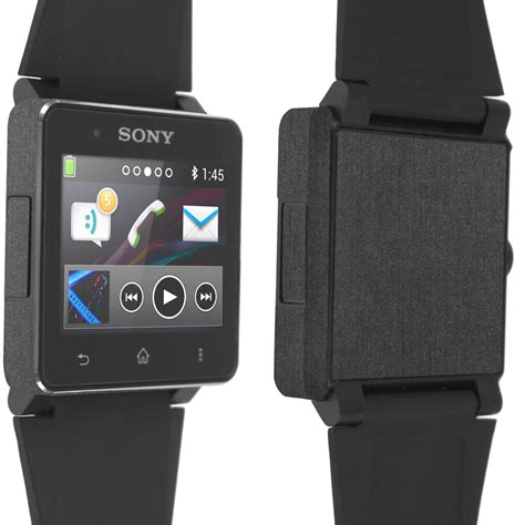 Resmi Sony Smartwatch 2 skinomi techskin sony smartwatch 2 brushed steel skin protector