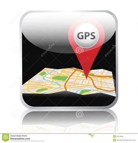 design app with gps gps royalty free stock images image 31815639