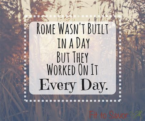 in s day rome was not built in a day