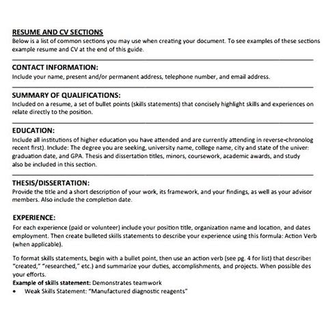 simple resume format for students doc simple student cv exle free sles exles