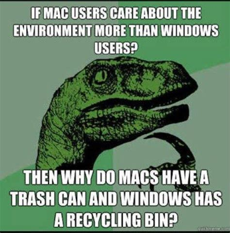 what are some of the best mac vs windows jokes memes quora