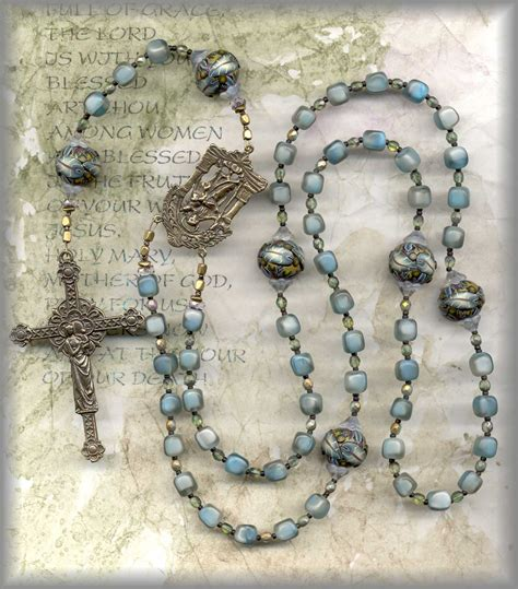 how to make a beaded rosary make a rosary