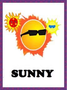 Flash Cards Division Printable Kindergarten Worksheets Weather Flashcards Sunny