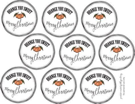 printable christmas orange story orange you sweet printable christmas gift tags trader