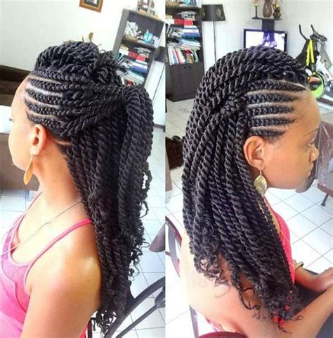kinky twist on thin hair 18 best braids for thin edges images on pinterest flat