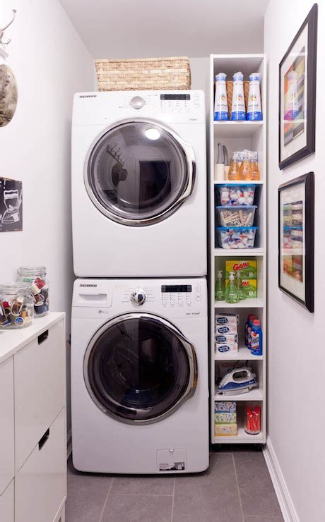 Narrow Clothes Dryer Stackable Washer And Dryer Design Ideas