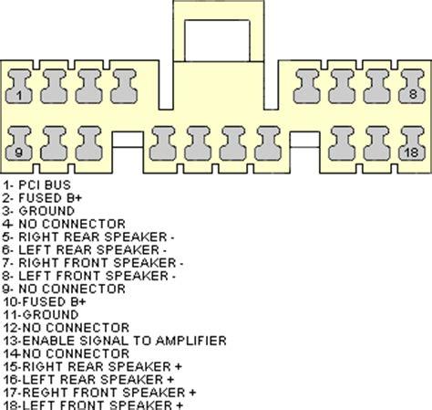 daimler chrysler radio wiring diagram get free image