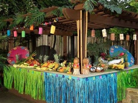 luau backyard party ideas 24 best images about hawaiian back yard luau ideas on