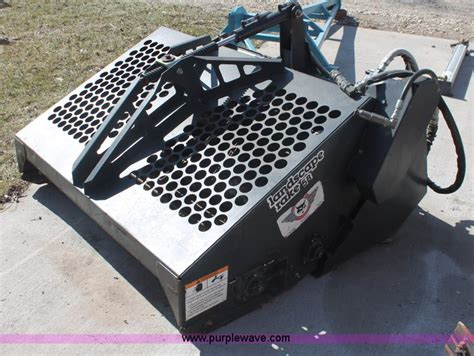 bobcat 5b landscape rake no reserve auction on thursday