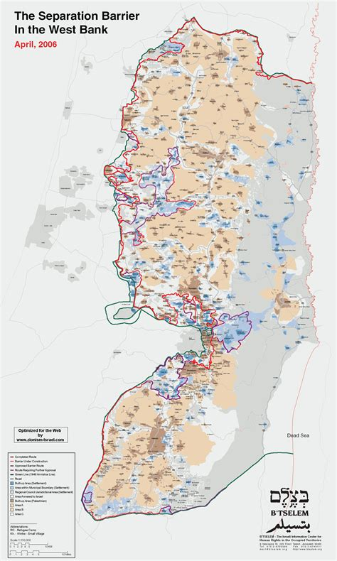 west bank banking map of israel state of israel maps mapsof net