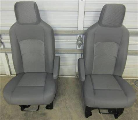 ford e350 seat covers 08 15 ford econoline e 250 e 350 gray cloth