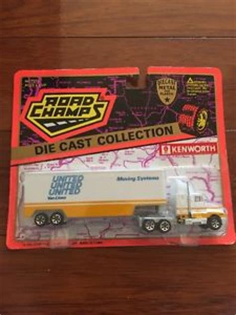 Trucker United Till I Die 2 road chs semi truck yellow white kenworth t600a united lines die cast new ebay