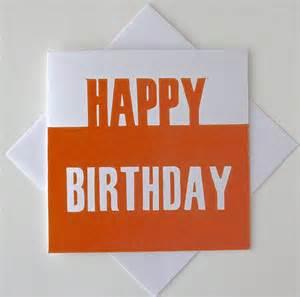 happy birthday cards for him happy birthday card for him lino print by thelinoprintshop