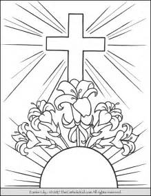 easter color easter coloring page