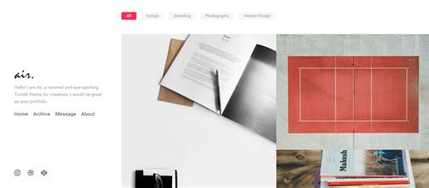 tumblr themes for videographer 20 best photography tumblr themes with gorgeous designs
