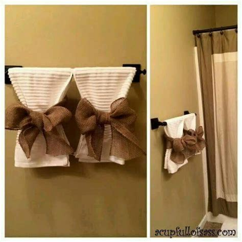 bathroom towel display ideas 25 best ideas about decorative bathroom towels on