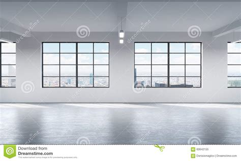 How To Clean Interior Windows by Modern Bright Clean Interior Of A Loft Style Open Space