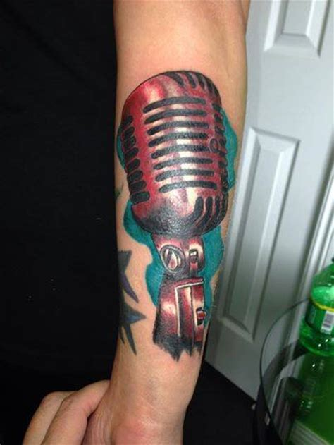 studio microphone tattoo designs microphone tattoos designs ideas and meaning tattoos