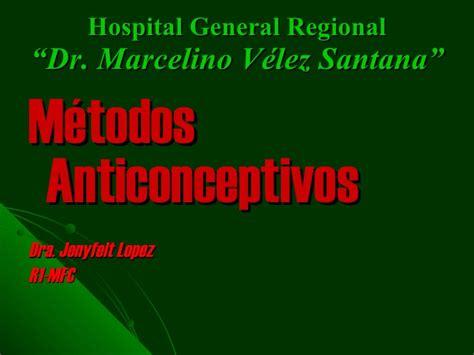 hospital marcelino v 233 santana metodos anticonceptivos