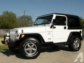 1997 jeep wrangler sport for sale in belton