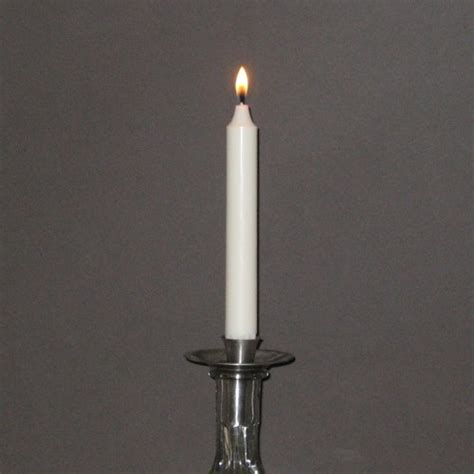 Dinner Candles 19cm Ivory Stearin Dinner Candles