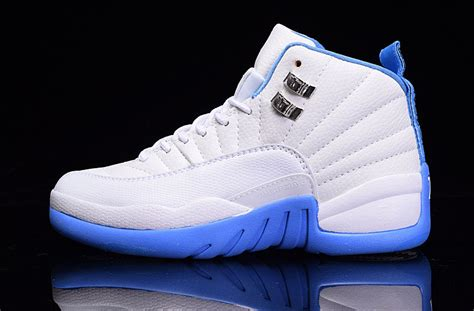 new jordans shoes for 2017 new air 12 gs blue shoes