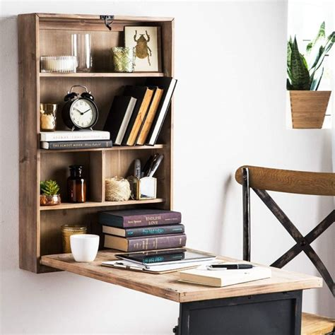 practical  space saving murphy desks digsdigs