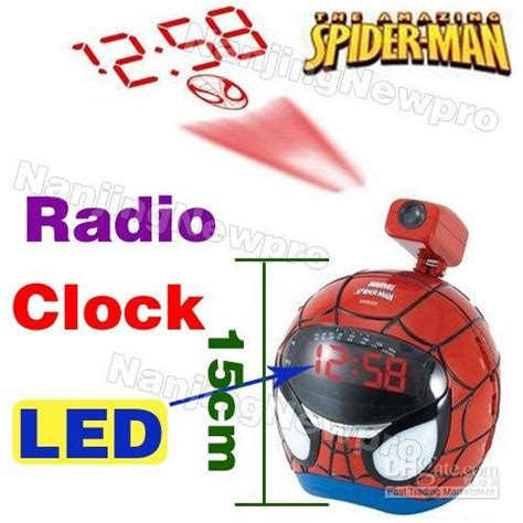 2017 spider alarm clock radio receiver projection clock toysm503 from trust818 34