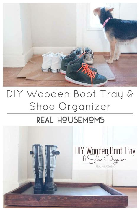 diy shoe tray diy wooden boot tray shoe organizer shoes organizer
