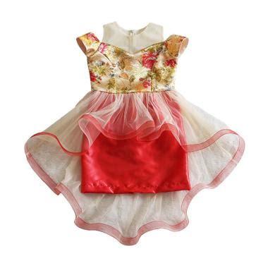 Unico Bunga Fuschia Dress Anak jual baju cheongsam anak terbaru harga murah blibli
