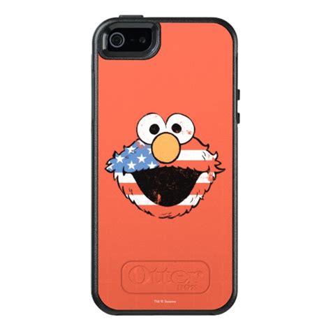 Elmo Iphone 5 5s Se patriotic elmo distressed otterbox iphone 5 5s se