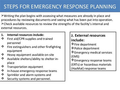 hazardous waste contingency plan template 22 images of osha spill response plan template infovia net
