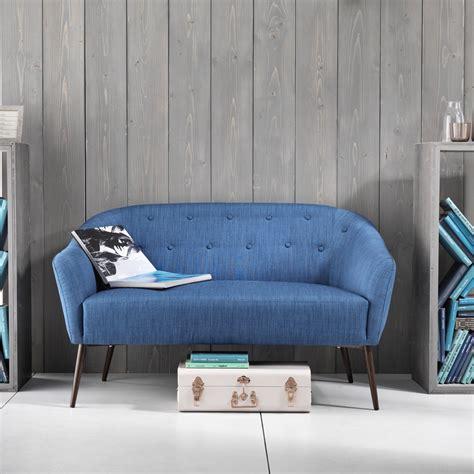 divano a due posti divano a due posti rivestito in tessuto enea design moderno