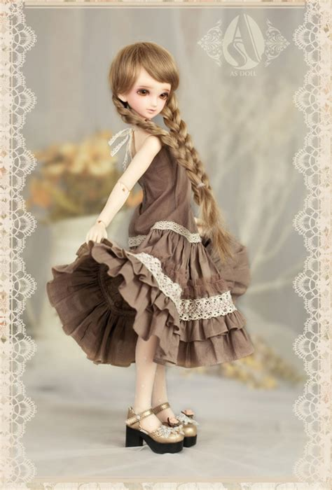 jointed doll dress bjd clothes 1 4 cherry from angell studio dollykins