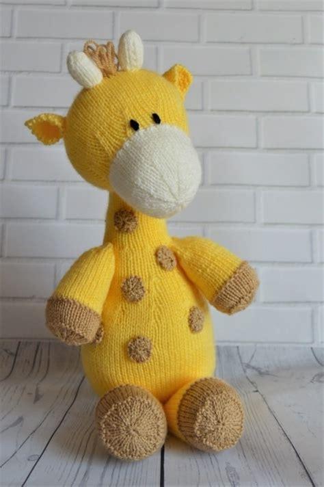 knitting patterns toys free downloads raf the giraffe softie knitting by post