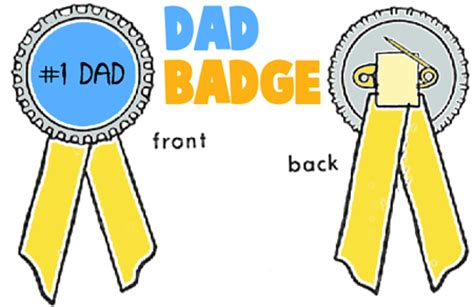 How To Make A Paper Badge - award medal trophy crafts for ideas for arts