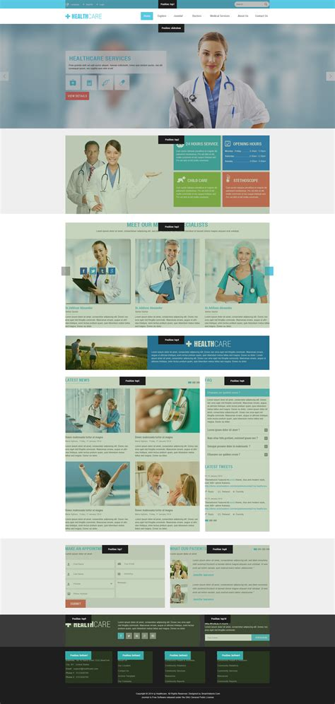 beaufiful joomla health template images gallery gt gt medico