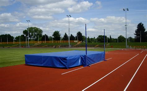 Used High Jump Mats by Mats School Sports Services Ltd