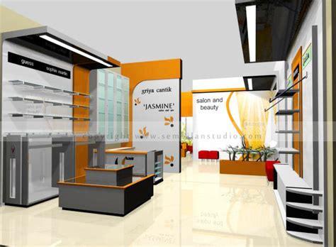 Bentuk Layout Toko | interior griya cantik salon dan toko baju