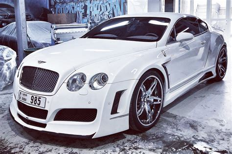 bentley forgiato snowing in the desert wide body bentley gt on 22