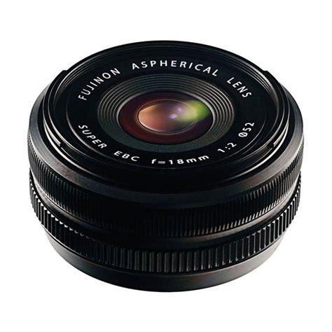Lensa Fujifilm 27mm jual fujifilm fujinon xf 18mm f2 0 lensa kamera hitam harga kualitas terjamin