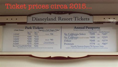 disneyland resort ticket price increases   babes