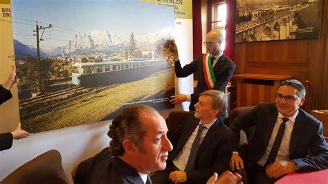 intesa sabato treno delle dolomiti firmata l intesa nuovocadore it